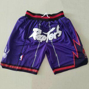 Toronto Raptors Pockets Purple Shorts